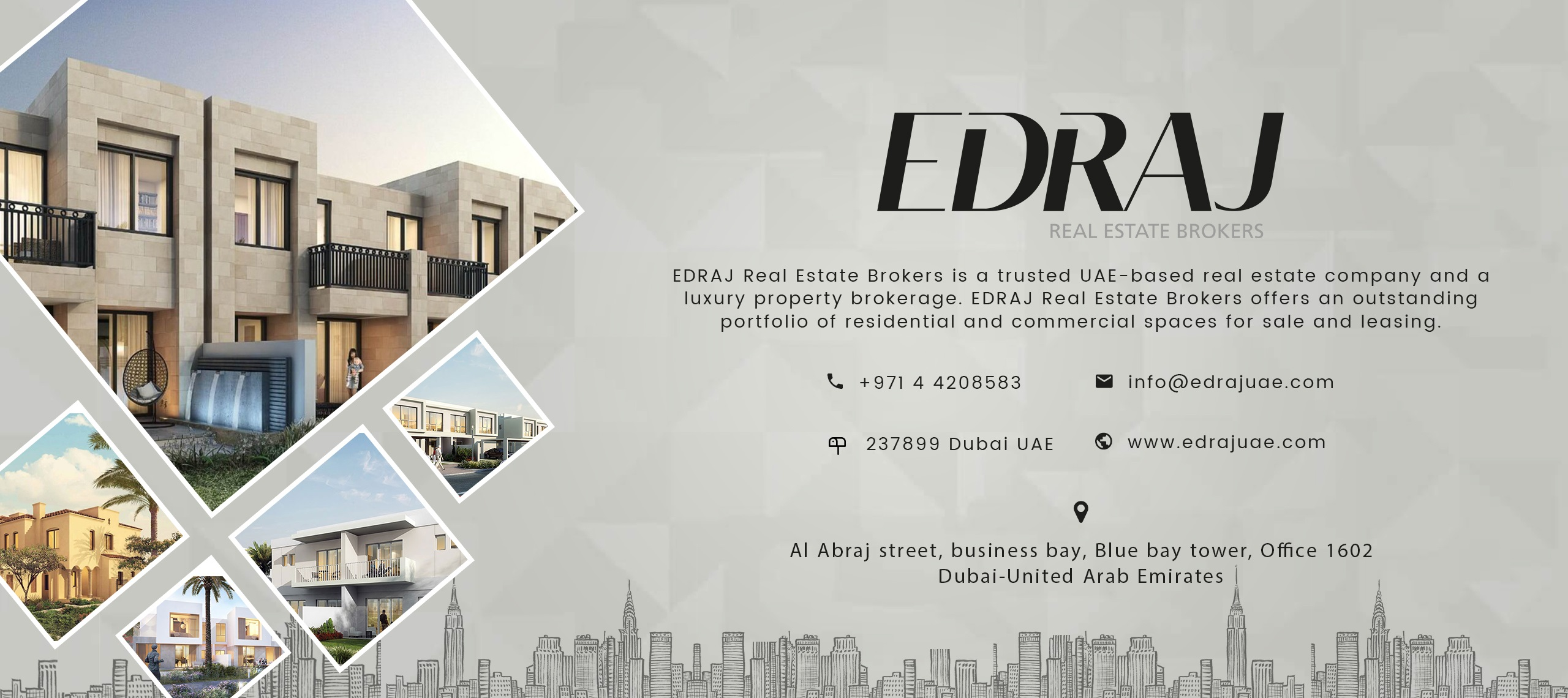 EDRAJ - Properties in Dubai